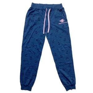 Sweatpant Jogger Disney Cruise Line Anchor Navy